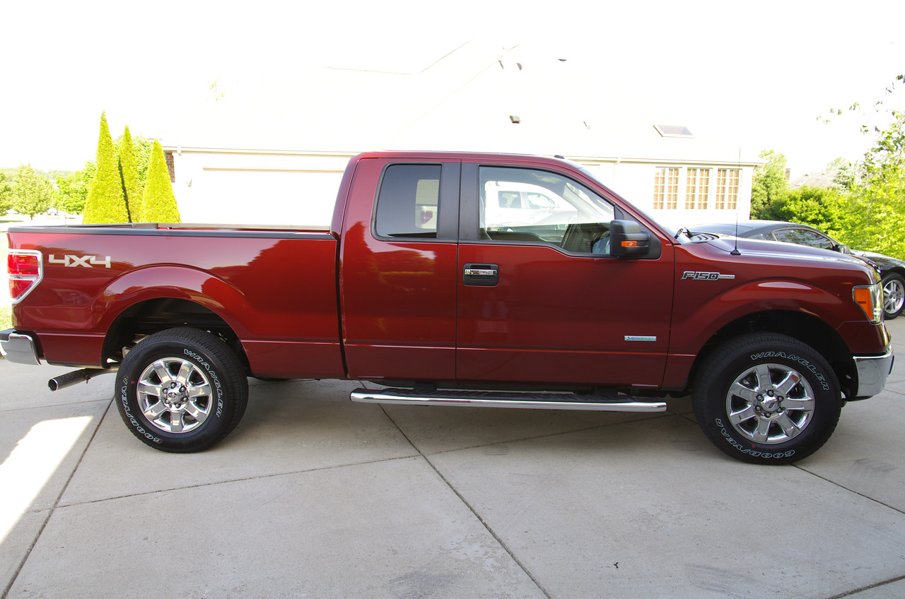 My 2014 F150 Xlt 4x4 In Sunset Metallic Ford F150 Forum